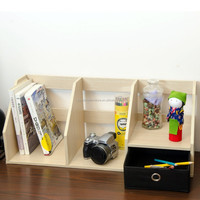 MDF desktop book case