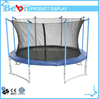 wholesale 6ft outdoor trampoline with safety net and completed poles extend to the ground