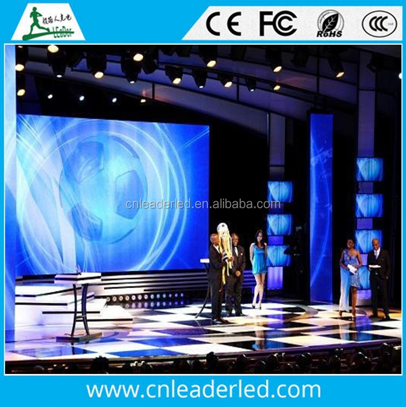 Leader P2 P2.5 P3 P4 P5 P6 led video wall / Outdoor full color P6 led display/ P6 Outdoor led