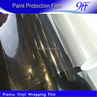 1.52*15 meter Transparent glitter vinyl film car paint protection film