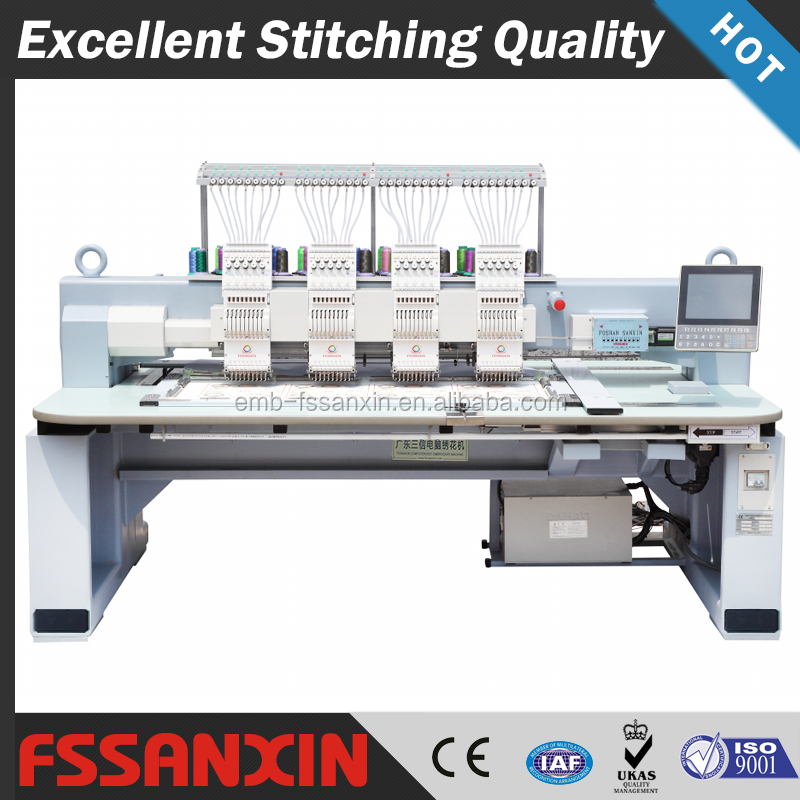 4 Heads electronic dahao computerized embroidery machine best price