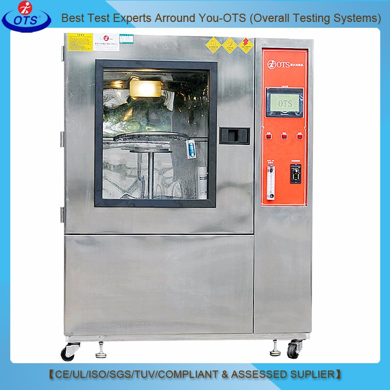 IEC60529 Waterproof Test Ipx5 Ipx6 Rain Spray Testing Machine for LED Light