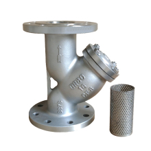 DN80 PN16 stainless steel 304 flanged y type strainer with 40 mesh manufacturers