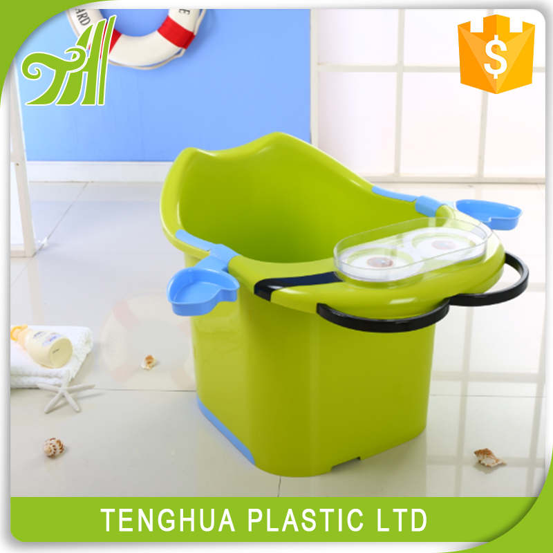 High Quality Plastic Baby Use Small Portable Folding Baby Bath T