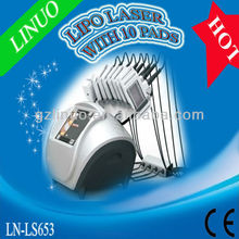 10 pads professional 650nm diode lipo laser faradic slimming machine ( Amazing Result in Fat loss!!!!!!!!!)