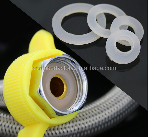 wster pipe joint waterproof non toxic Rubber Silicone washer Use in water clear rubber washers waterproof Rubber washer