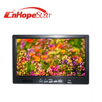 Good sale 16:9 vga hdmi DC12v 7 inch lcd monitor with av input