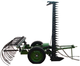 Hot sale tractor trailed 3 point mowing rake machine