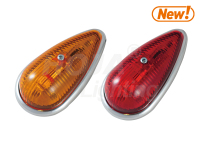 LED Cab Marker Clearance Light Tear Drop 24v led truck light