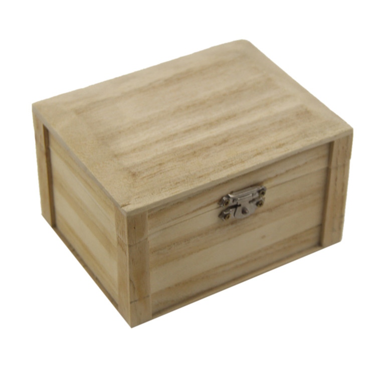 Factory custom different size wooden packaging jewelry gift box
