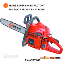 45cc chain saw sales with visible fuel level and anti slip board
