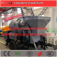 CE/SONCAP Certification Concrete Mixing Pump/Concrete Pump with Mixer/Concrete Mixer Pump