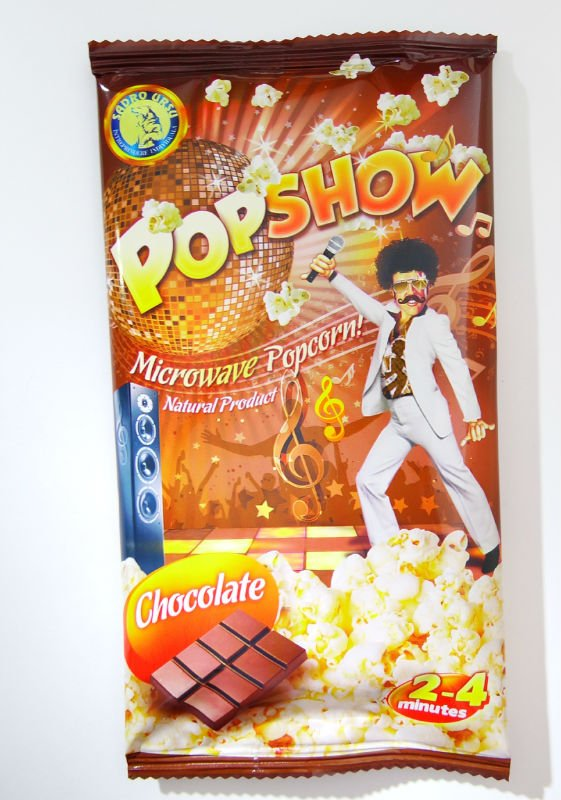 Microwave popcorn chocolate