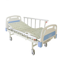 cheap hospital equipment simple standard folding patient care clinic bed CY-A102