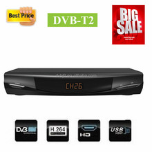 2015 Receptor satellite DVB-T2 digital hd decoder for Columbia