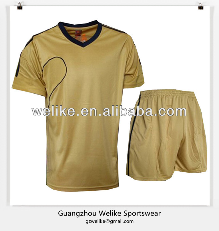 2014cheap blank football jerseys screen printed soccer jersey wholesale sports uniform