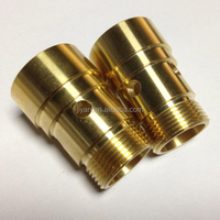 OEM custom machining aluminum brass cnc turning drawing parts with high precision