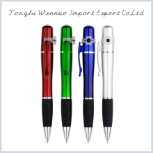 2015 new promotional products novelty blue light led pen