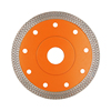 Hot Press Sintered Turbo-mesh Blade Reinforced Body Diamond Saw Blade for Tile Porcelain Glass Granite Marble Cutting