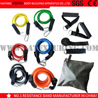 11PCS Black Mountain Resistance Band Set