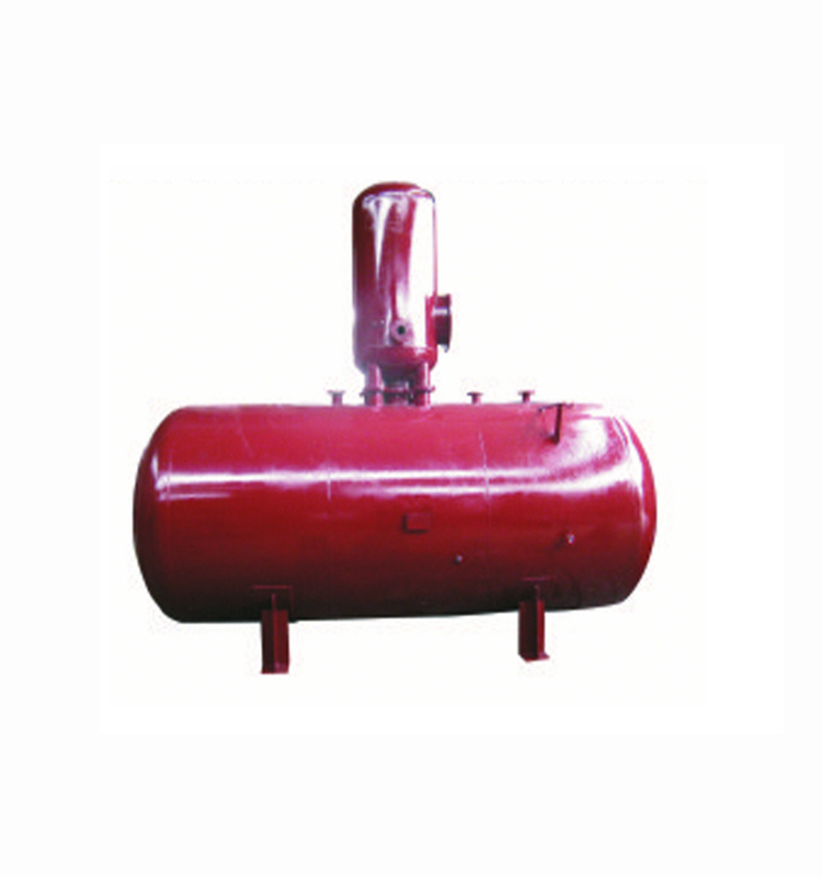 Thermal spray type deaerator for boiler deaeration equipment