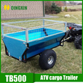 Garden Galvanized trailer tipping 500kgs