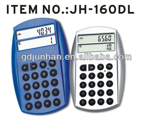 JH160DL promotional electronic power currency converter calculator