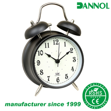 Guangzhou 4 inch simple painting design electronic retro alarm clock model
