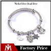 Handmade Fashion Accessories Stainless Steel Owl