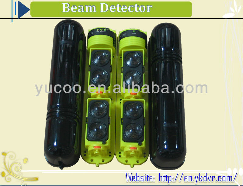 Wire/wireless photoelectric barrier beam infrared detector