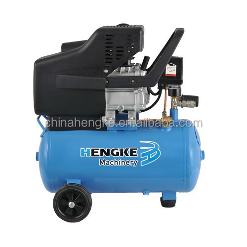 HENGKE electric/gasoline/diesel portable direct belt driven piston air compressor for sale