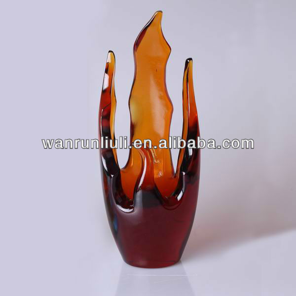 Phoenix fly vase abstract sculpture for home or office decor