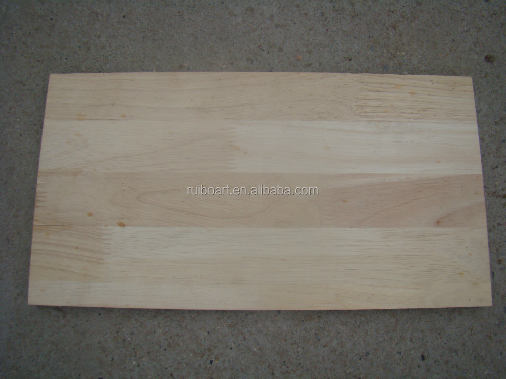rubber wood finger joint board for use furniture board