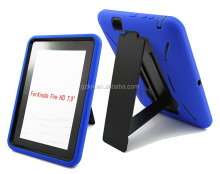Rugged rubber combo case for Amazon Kindle Fire HD 7.0 inch back housing