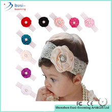 Trend Product 2017 Stylish Baby Hair Accessories Elastic Stretch Flower Infants Headband