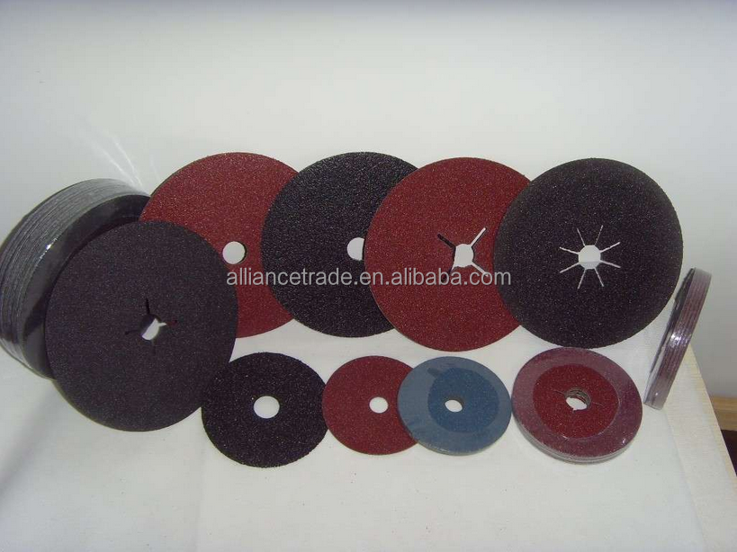 China manufacturer wholesale price aluminum oxide abrasive fiber disc