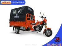 china gold supplier factory price adult tricycle three wheel covered motorcycle for 2 adults with cabin