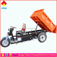 2016 Cheaper Strong power 48V 1000W 1 ton electric tricycle cargo