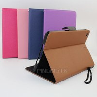 Mix color flip leather case for ipad mini 4 , for apple ipad mini 4 tablet stand cover