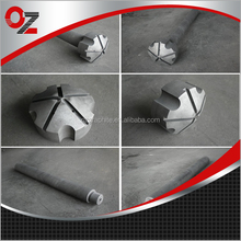 China manufacturer customized graphite impeller and shaft
