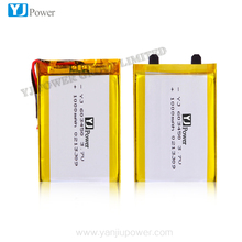 China alibaba li-ion battery 3.7v 1000mah with 6.0*34*43 mm for battery operated wireless security camera portable battery