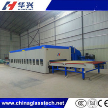 ISO9001 flat glass tempering glass machine price