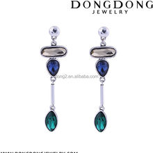 Top selling special design crystal drill European style of the palace earring