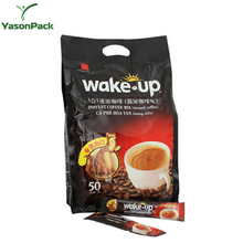Yason coffee bags packaging 1 pound/valve coffee10kg bags laminated multiple layer plastic aluminum foil coffee bag burlap coffe