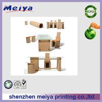 hexagon folding table set furniture corrugated cardboard furniture corrugated cardboard table shenzhen furniture