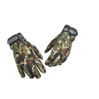 Good quality leather palm archery hunting gloves