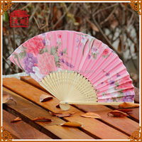 Traditional chinese gifts bamboo hand fan
