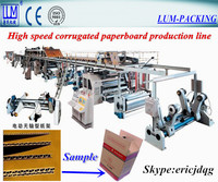 fully automatic corrugated box making machine/3 5 layer corrugated paperboard production line CE and ISO9001