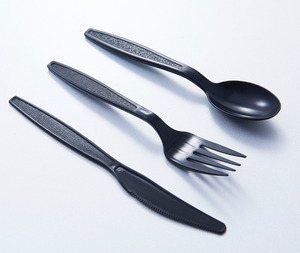 Factory directly sell disposable plastic cutlery/PP disposable plastic cutlery set fork/spoon/knife/heavy duty cutlery set