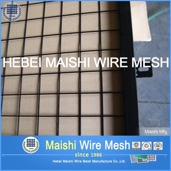 Epoxy-Coated Welded Wire Fabric Black
